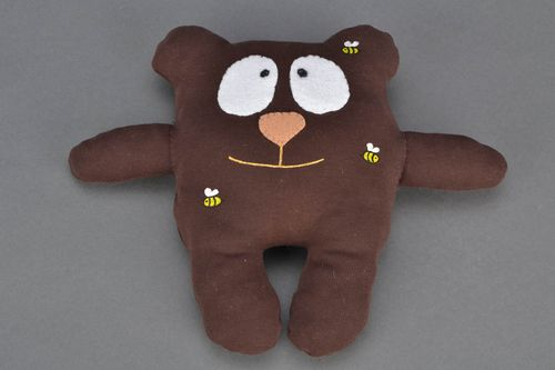 Interior pillow pet in the shape of bear - MADEheart.com