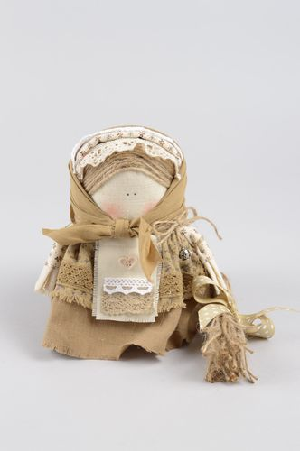 Handmade doll decorative use only unusual doll for baby decor ideas soft toy - MADEheart.com