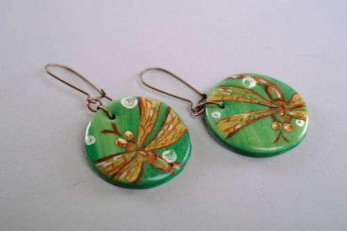 Earrings Dragonflies - MADEheart.com