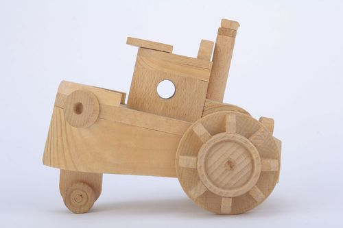 Wooden toy Boat - MADEheart.com