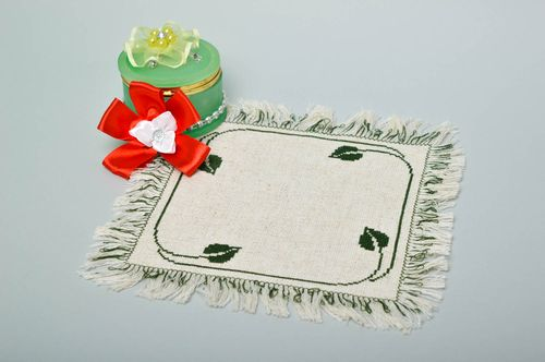 Handmade beautiful stylish napkin table decor ideas cute home textile - MADEheart.com