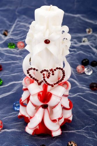 Beautiful handmade decorative candle wedding candle designs wedding accessories - MADEheart.com