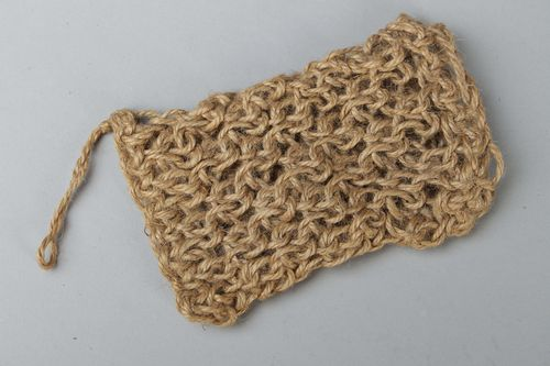 Natural jute body scrubber - MADEheart.com