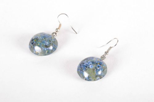 Earrings with natural flowers - MADEheart.com