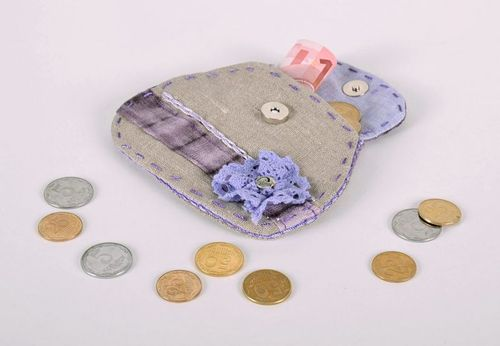 Purse for coins - MADEheart.com