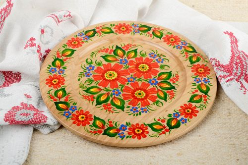 Unusual handmade wall plate wall hanging wall panel decorative use only - MADEheart.com