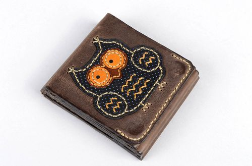 Handmade wallet gift ideas unusual wallet for men designer accessories - MADEheart.com