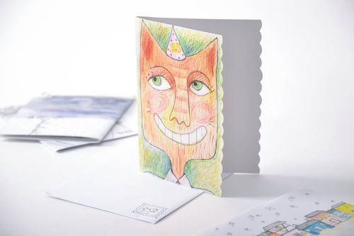 Authors greeting card - MADEheart.com
