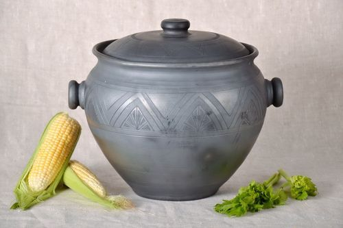 Pot with lid - MADEheart.com