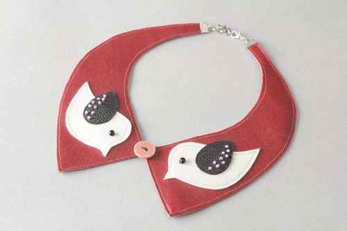 Removable collar Birds - MADEheart.com