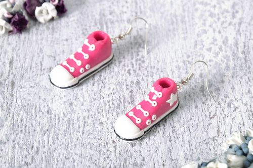Earrings Favorite Gym Shoes - MADEheart.com