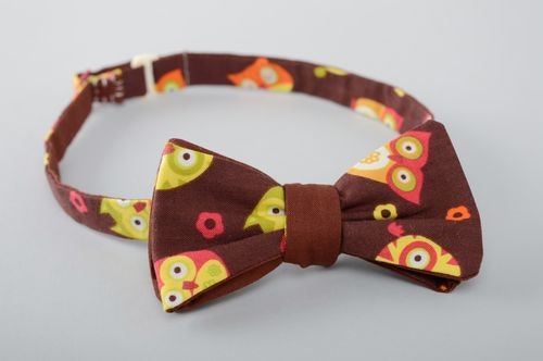 Funny fabric bow tie for girls and boys - MADEheart.com