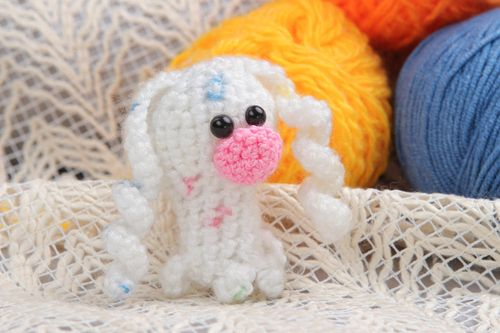 Unusual handmade crochet brooch animal brooch jewelry small gifts for kids - MADEheart.com