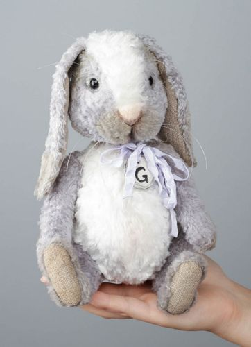 Soft toy Rabbit Grace - MADEheart.com