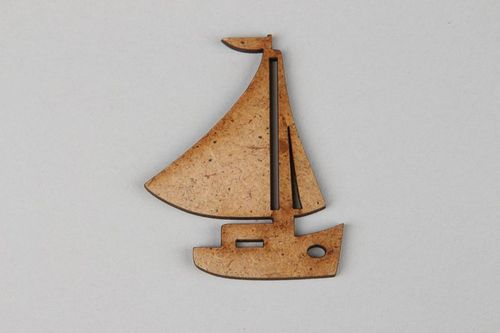Chipboard Ship  - MADEheart.com
