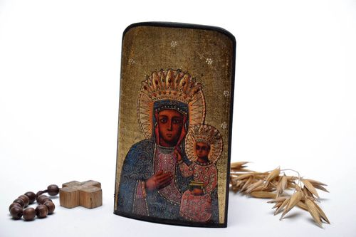 Copy of the icon of the Mother of God - MADEheart.com