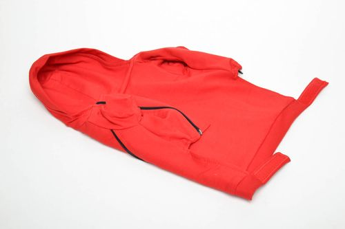 Red dog sweatshirt - MADEheart.com