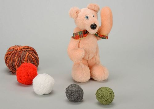 Soft toy bear - MADEheart.com