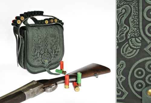 Hunting bag with cartridge - MADEheart.com