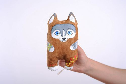 Coffee Toy Wolf - MADEheart.com