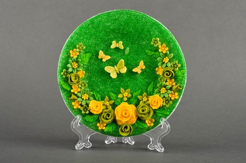 Handmade wedding dish decorative plate for wedding decorative use only - MADEheart.com