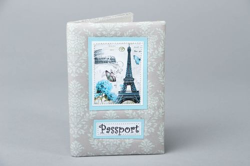 Scrapbooking passport cover - MADEheart.com