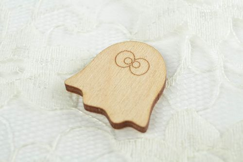 Handmade designer goods for creativity unusual blank for painting wooden blank - MADEheart.com