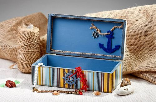 Jewelry box for jewelries with splotchy effect - MADEheart.com
