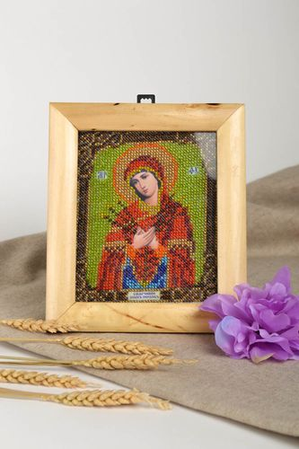 Orthodox icon carved icon family icon gift ideas handmade gift unusual icon - MADEheart.com