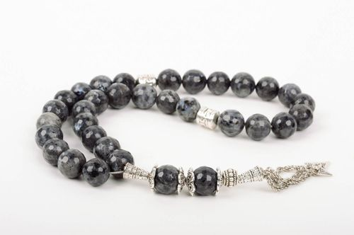 Handmade prayer rope rosary beads designer accessories presents for men - MADEheart.com