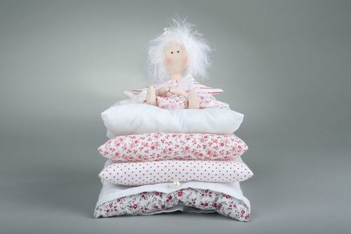 Tilde doll The princess on a pea with a hare - MADEheart.com