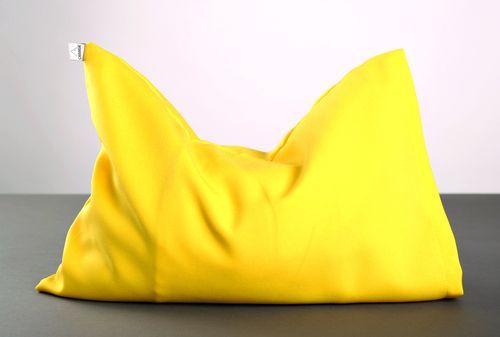 Yellow pillow for yoga - MADEheart.com