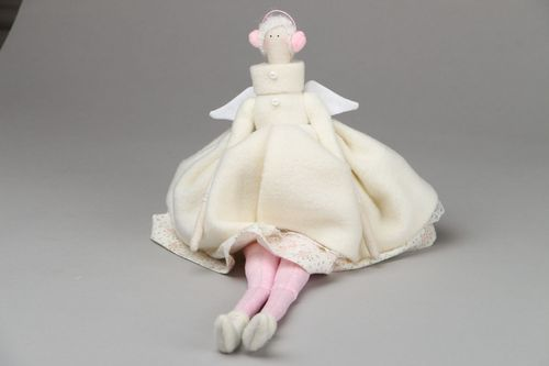 Soft toy Winter Angel - MADEheart.com