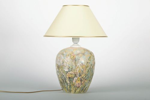 Ceramic night lamp Flowers - MADEheart.com