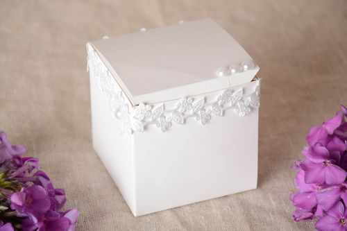 Handmade present box unusual present box beaded present box gift ideas - MADEheart.com
