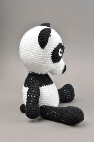 Handmade woven soft toy unusual beautiful souvenir stylish toy for kids - MADEheart.com