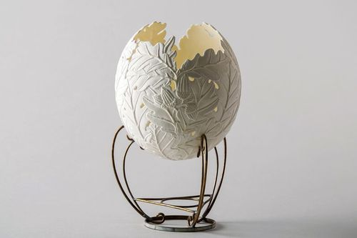 Egg-lamp Oakwood tenderness - MADEheart.com