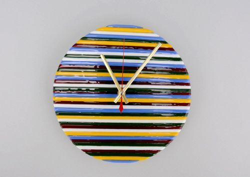 Glass clocks Perfect Day - MADEheart.com