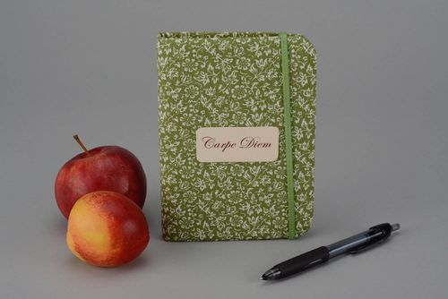 Flavored notebook  - MADEheart.com