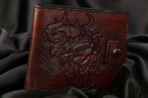 Genuine leather wallet - MADEheart.com