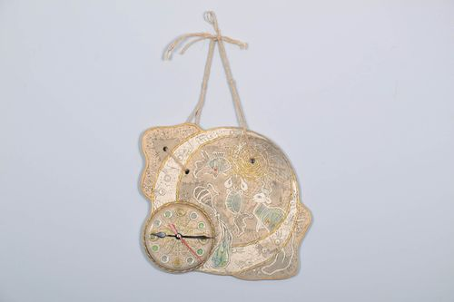 Ceramic wall clock  - MADEheart.com