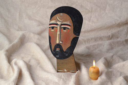 Unusual icon of Saint Mark - MADEheart.com