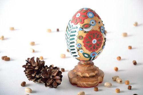 Decorative Ukrainian pysanka - MADEheart.com