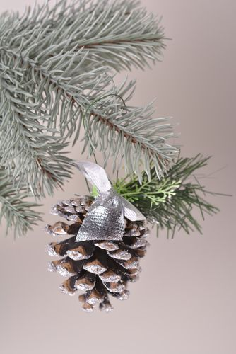 Lovely handmade cone beautiful home accessories unusual Christmas decor - MADEheart.com