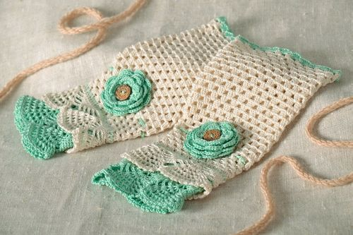 Knitted mittens  - MADEheart.com