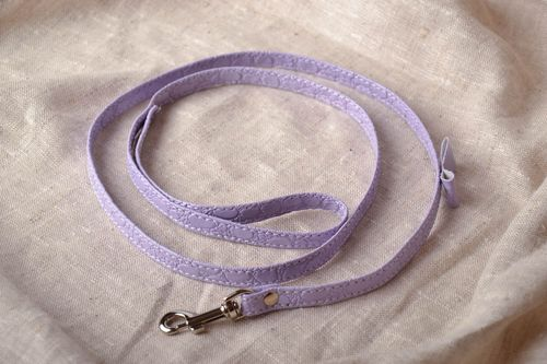 Thin dog leash - MADEheart.com