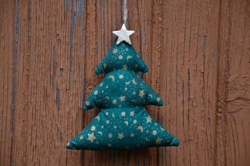 Soft decoration for home Christmas Tree - MADEheart.com