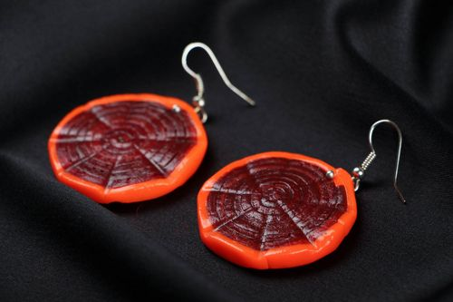 Polymer clay earrings - MADEheart.com