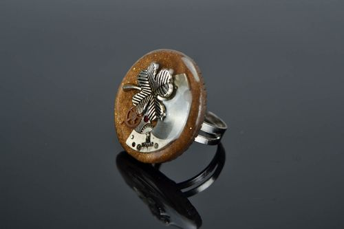 Steampunk Ring Klee - MADEheart.com