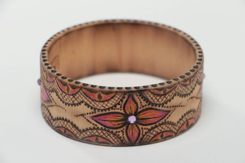 Handmade bracelet wooden jewelry womens bracelet designer accessories cool gifts - MADEheart.com